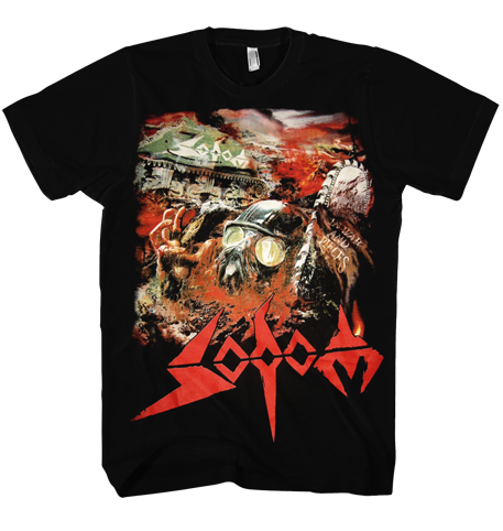 Sodom `In War and Pieces` T-Shirt