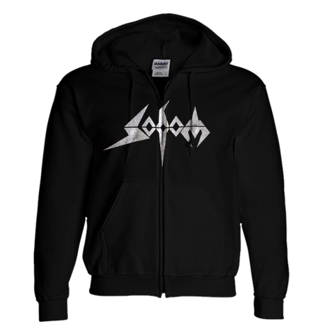 Sodom Ladies Silver Logo Zipper