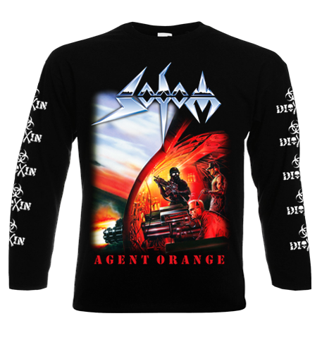Sodom `Agent Orange 2014` Longsleeve